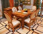 Стол обеденный Белмонт прямоугольный (массив дерева) распродажа