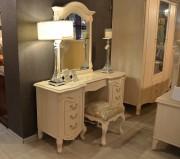 Стол туалетный Флетчер-W А с зеркалом (Классика, массив дерева)