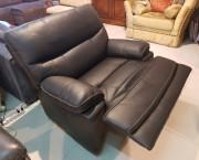 Кресло Терамо (Натуральная кожа, Реклайнер)