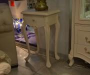 Столик под телефон Флетчер-W (Массив дерева, класика) каталог мебели с ценами