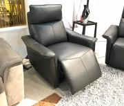 Кресло Анголо (Реклайнер, Натуральная кожа) цена