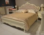 Кровать Габриель-W белая (Классика, Ткань) магазин Москва