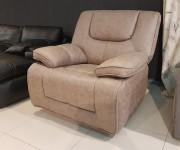 Кресло Прецо бургунди с реклайнером (Механизм качания, Ткань) купить