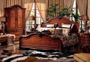 Кровать Монтана D для спальни (Классика, массив дерева) купить в Москве