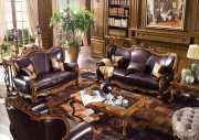 Гостиная Дакота А (Классика, Натуральная Кожа) каталог мебели с ценами