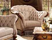 Кресло Дакота B (Классика, Капитоне)