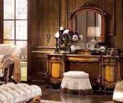 Стол туалетный Дакота B с зеркалом (Массив дерева, классика)