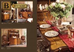 классическая мебель для столовой Феникс из массива дерева