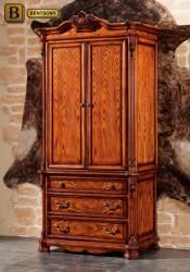 классический шкаф Феникс массив дерева цвет орех