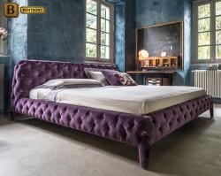 Кровать Скиллачи Фиолетовая