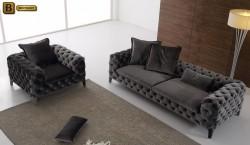 мягкая мебель Скиллачи цвет серый