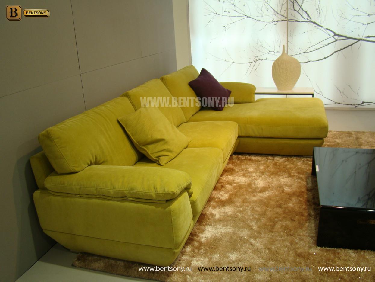 угловой тканевый диван Спалетти