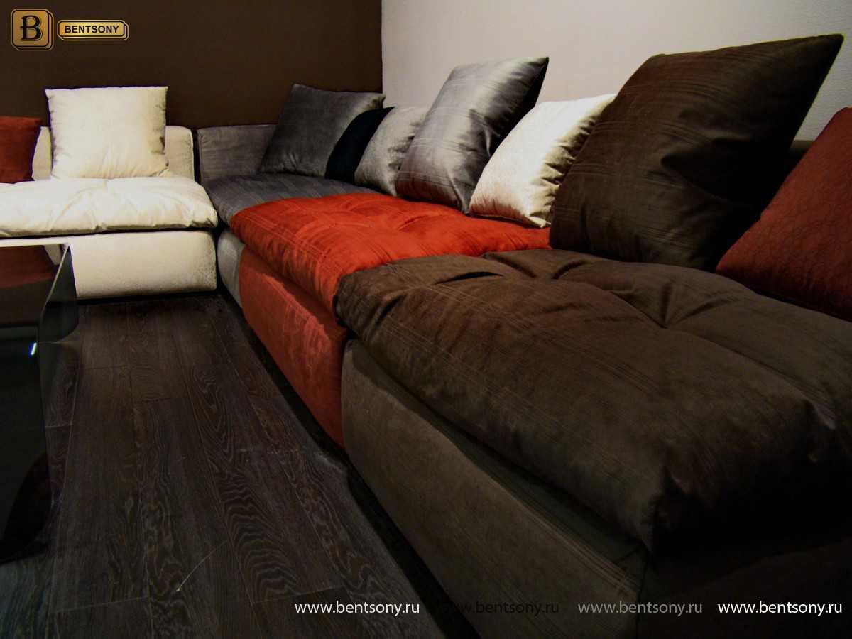диван Бениамино цветные модули