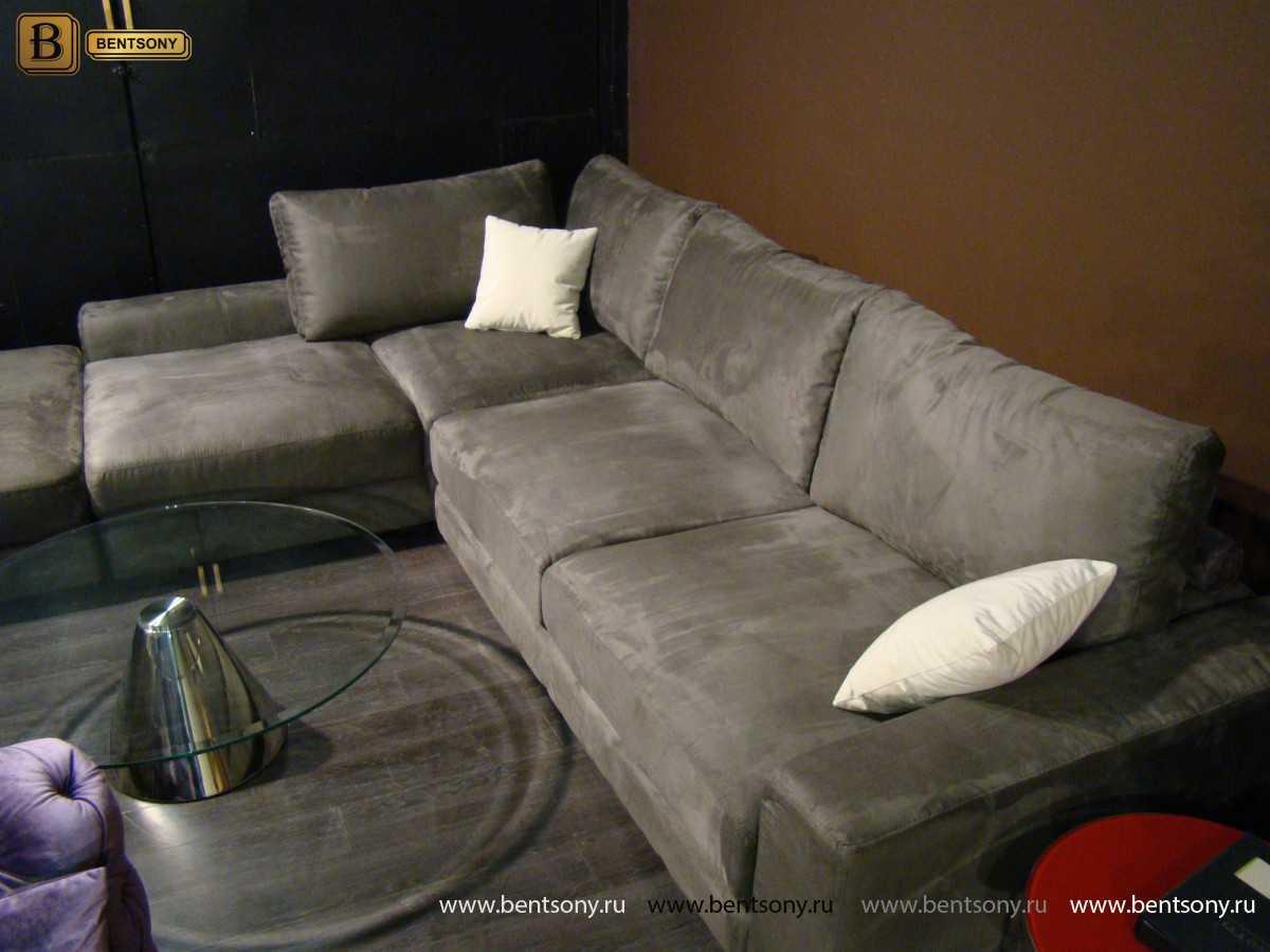купить тканевый угловой диван Луиджи