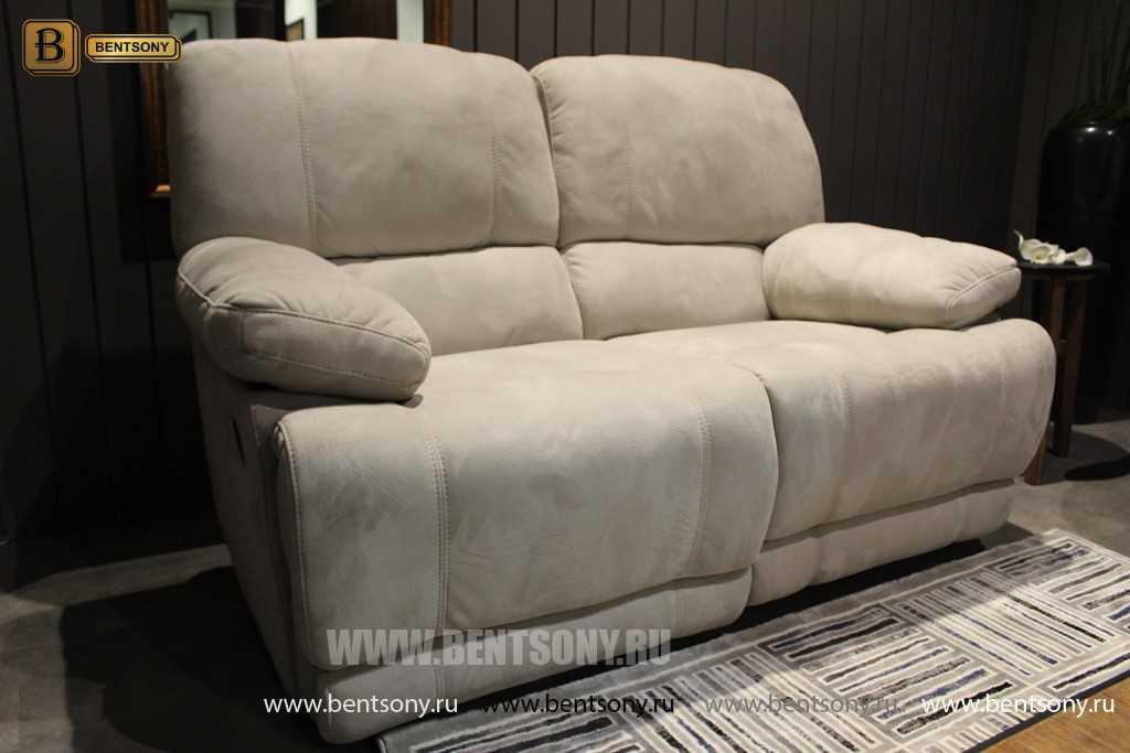 Кресло Марко (Реклайнер, Алькантара) купить в СПб