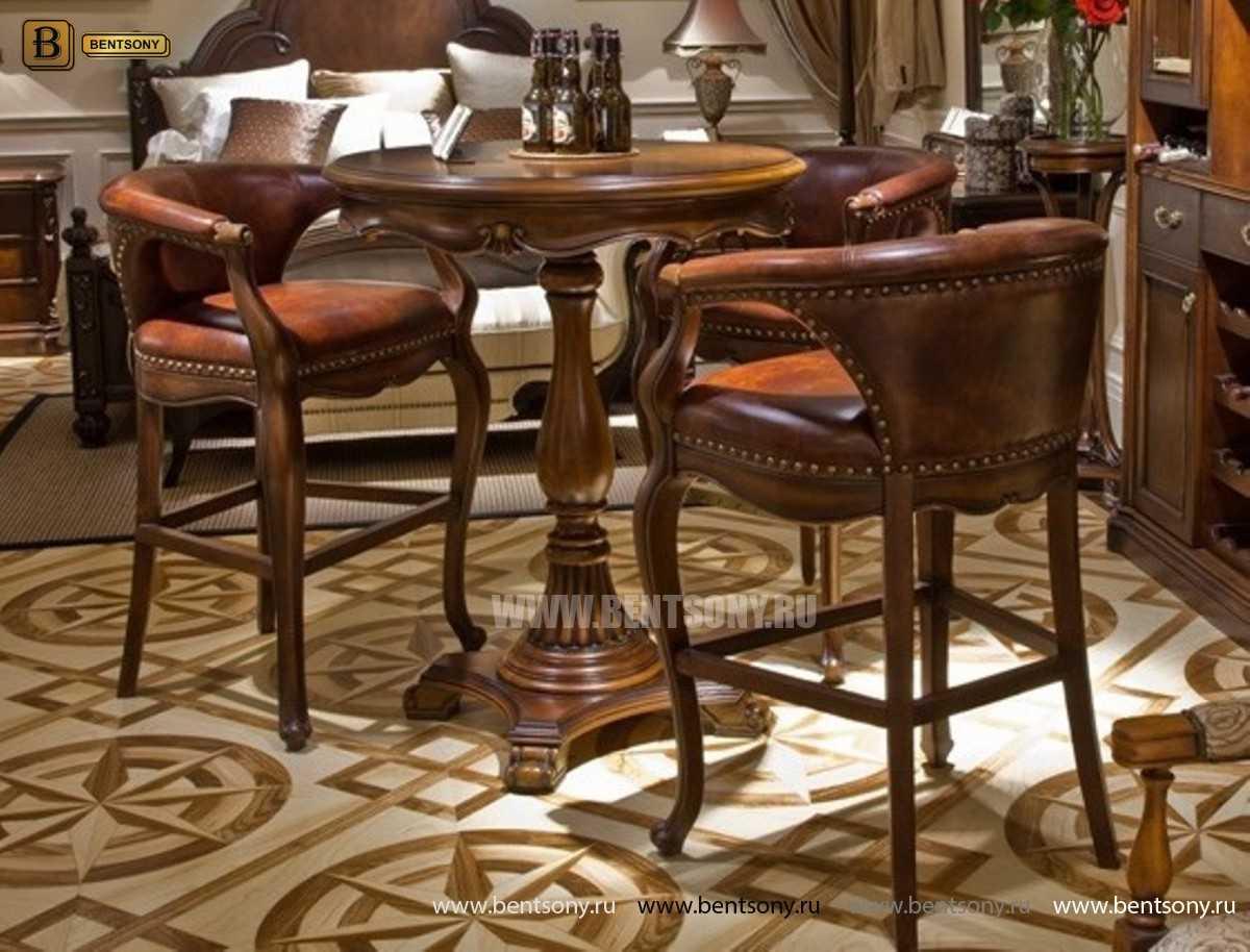 Барное кресло Крофорд D (Натуральная кожа) изображение