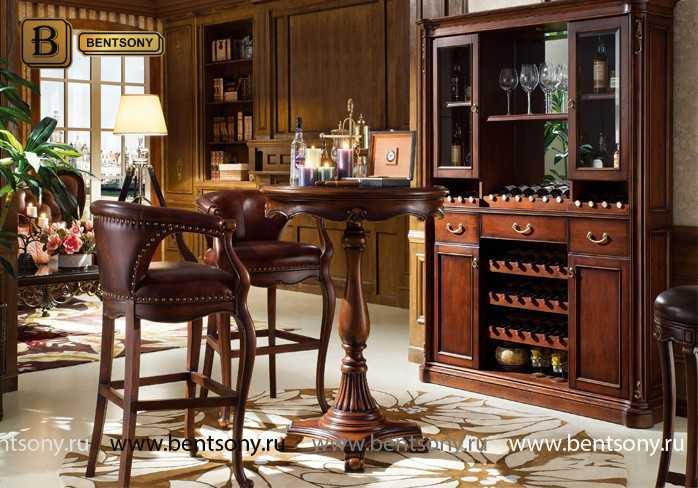 Барное кресло Крофорд D (Натуральная кожа) для загородного дома