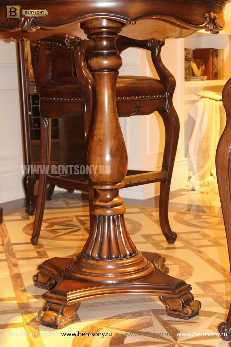 Барное кресло Крофорд D (Натуральная кожа) купить в СПб