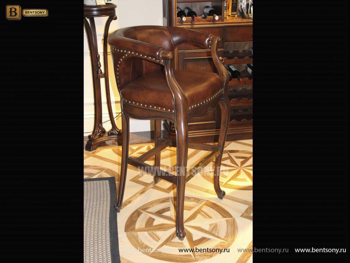 Барное кресло Крофорд D (Натуральная кожа) магазин Москва