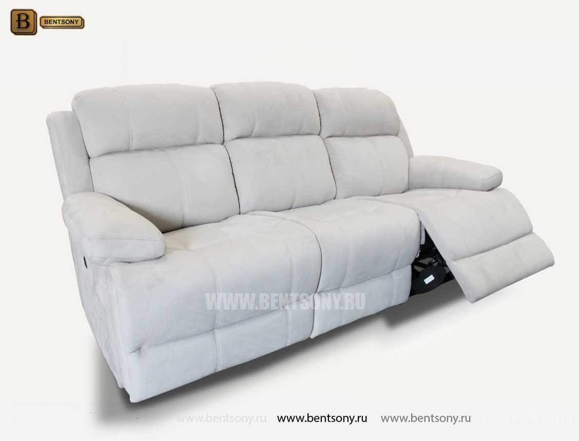 прямой диван Монфорте белый