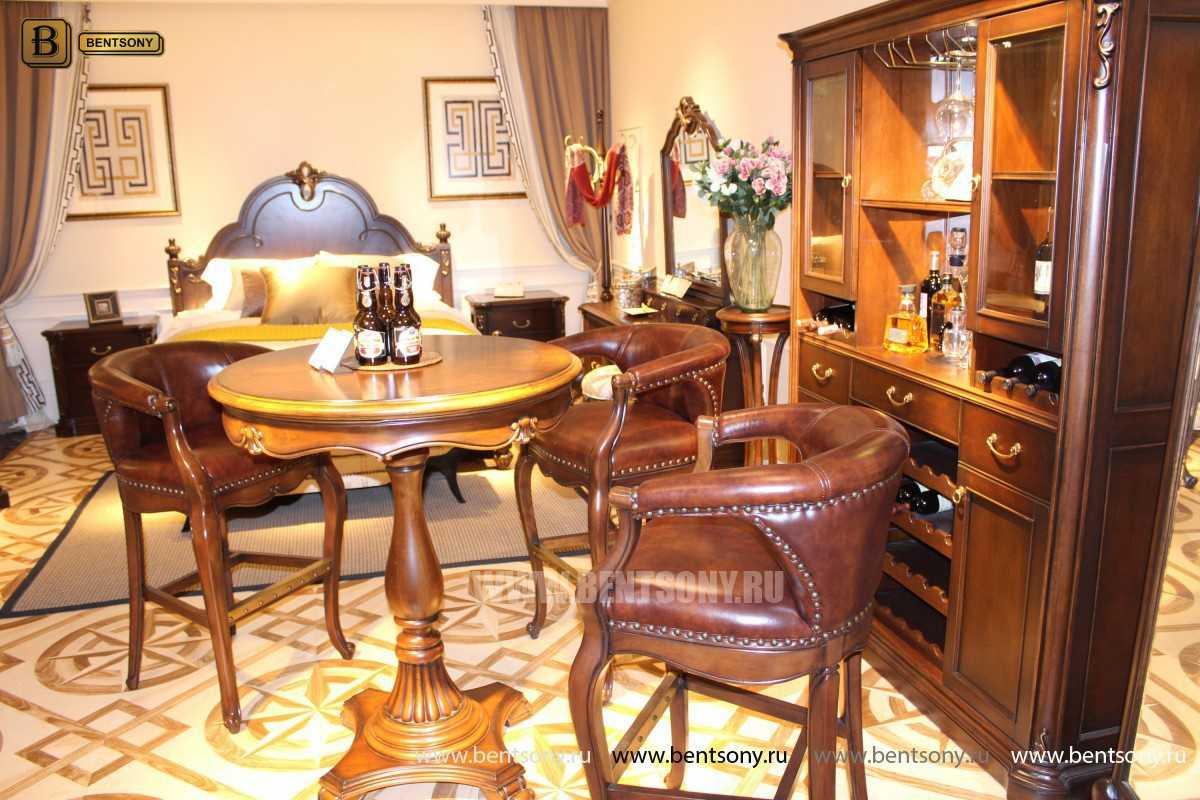 Барное кресло Крофорд D (Натуральная кожа) каталог с ценами