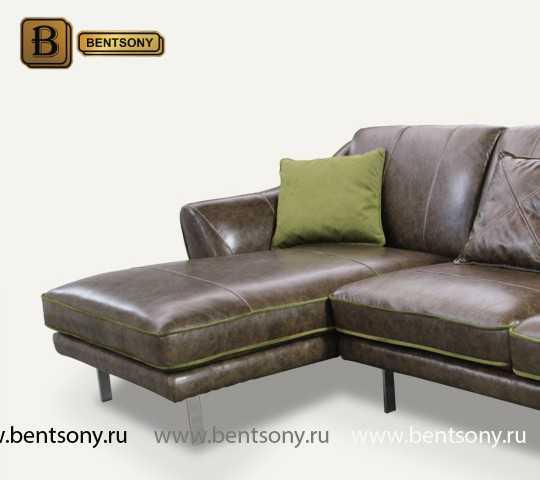 Диван Туторино (Прямой, VIP Кожа)  каталог мебели с ценами
