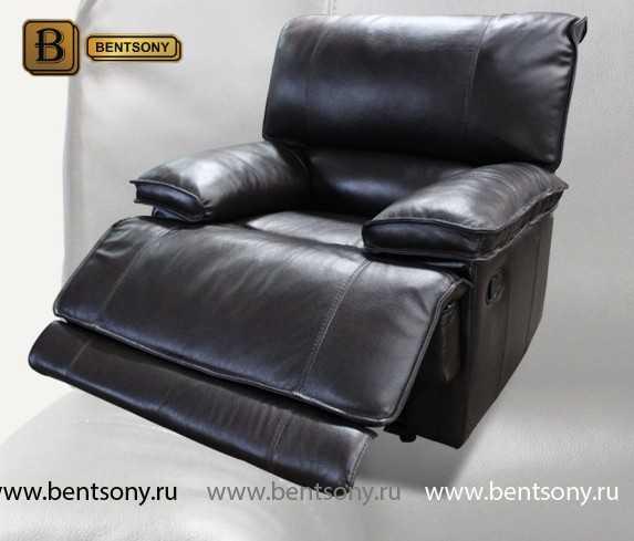 Кресло Капонело (Реклайнер, Натуральная кожа) каталог с ценами