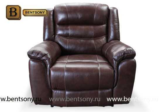 Кресло Бачино (Реклайнеры, Натуральная Кожа) купить в СПб