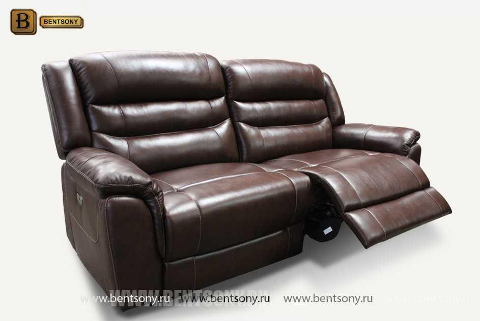 Кресло Бачино (Реклайнеры, Натуральная Кожа) каталог мебели