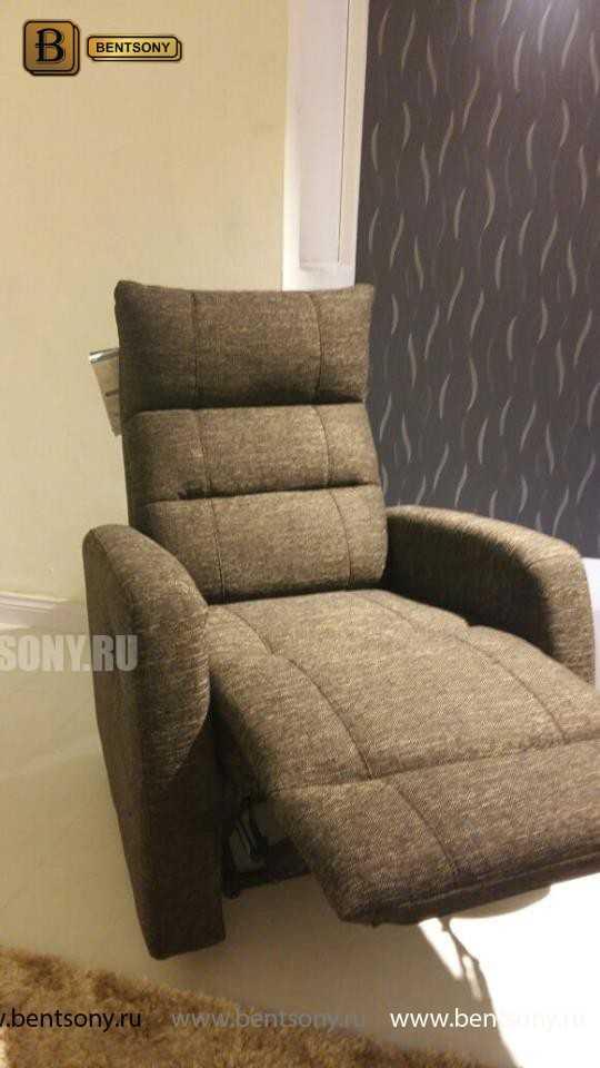Кресло Лаваль (Реклайнер, Натуральная кожа) каталог с ценами