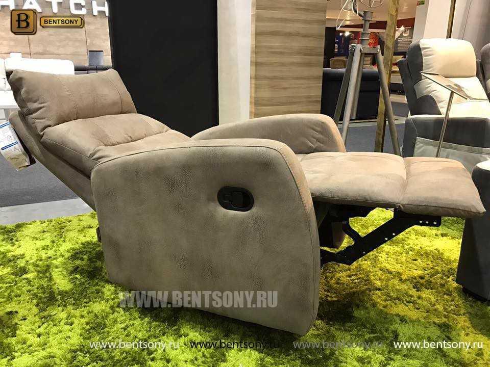 Кресло Лаваль (Реклайнер, Натуральная кожа) для дома