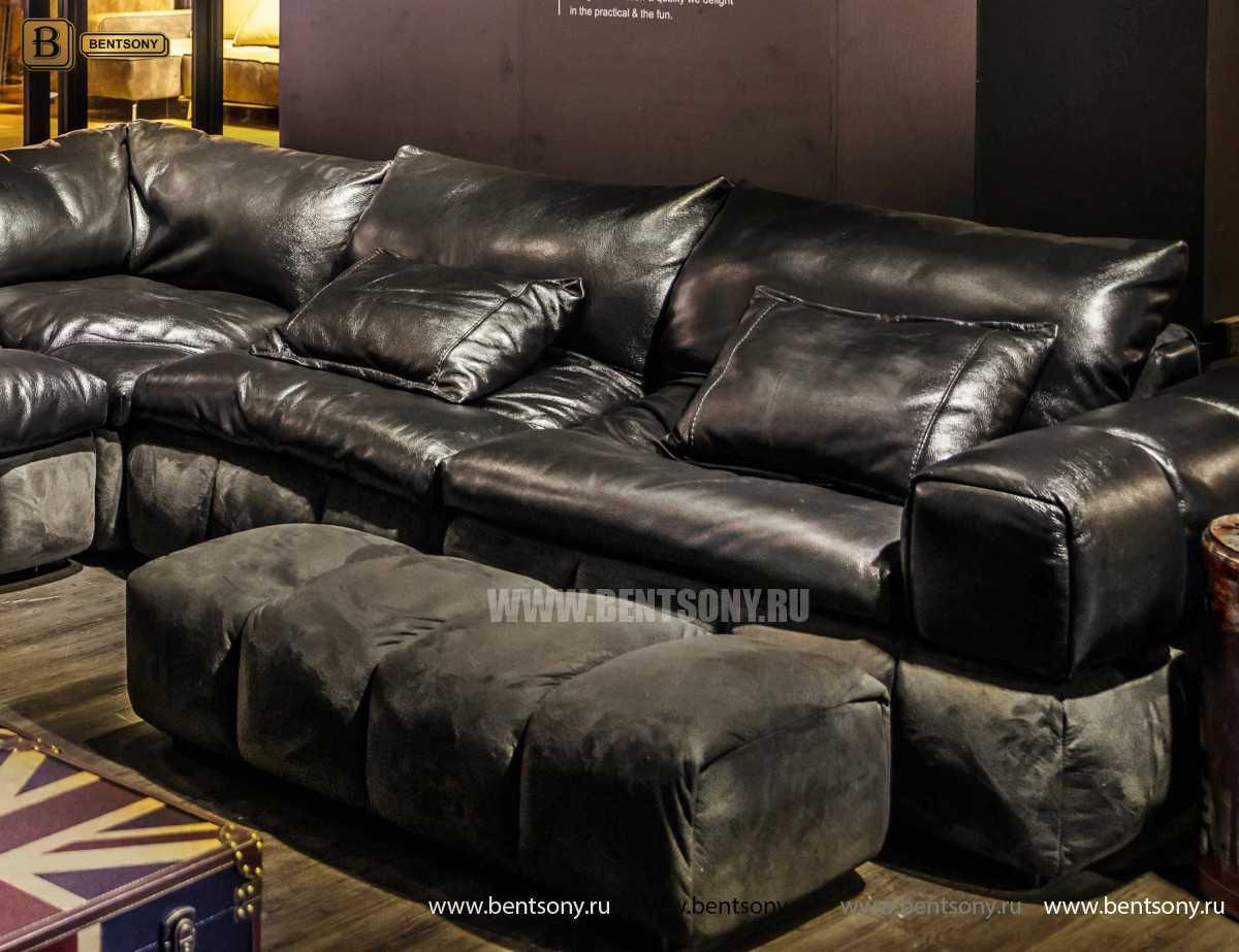 пуф к VIP диван Марчело кожаный