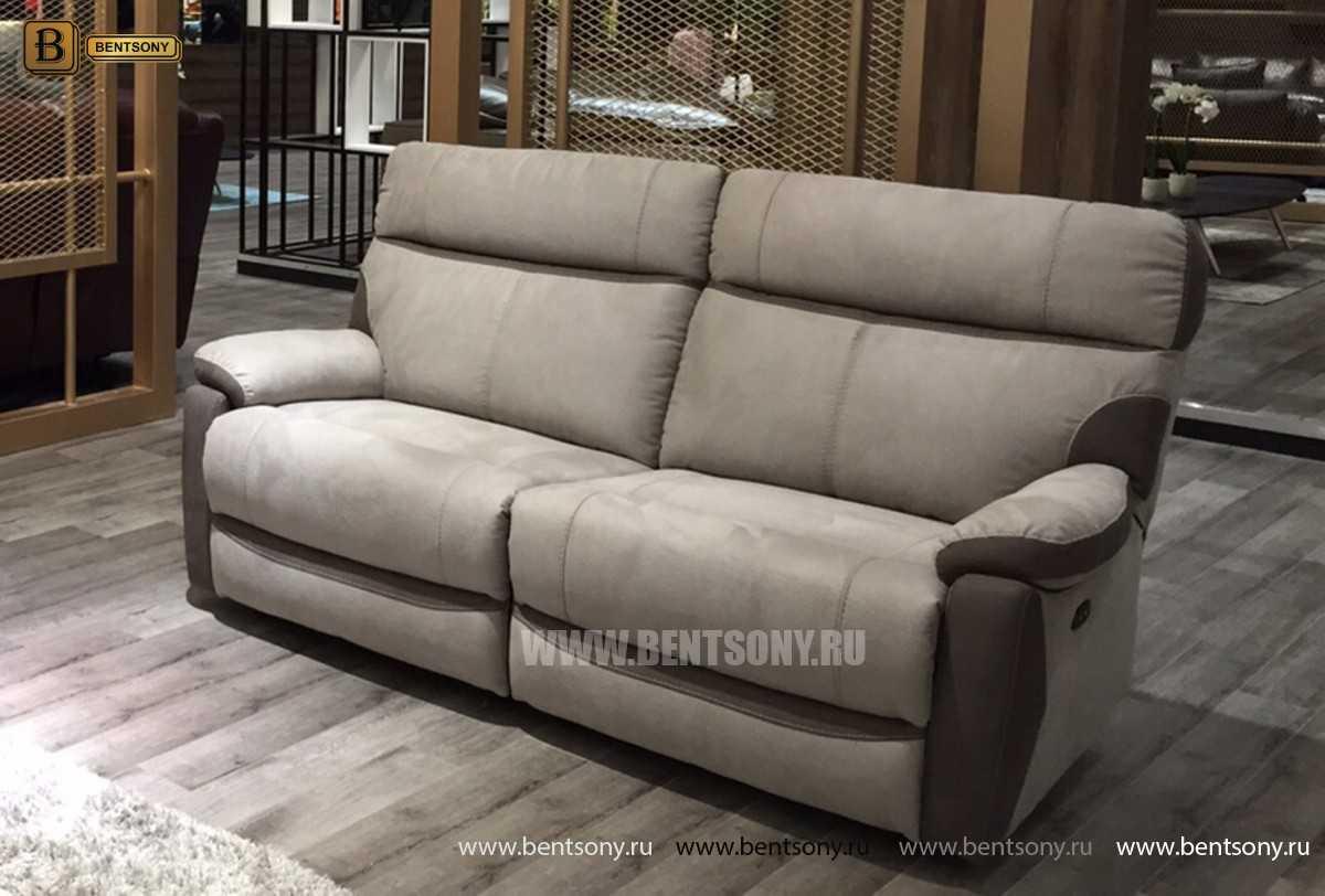 Кресло Моретон (Реклайнер, Алькантара) каталог мебели с ценами