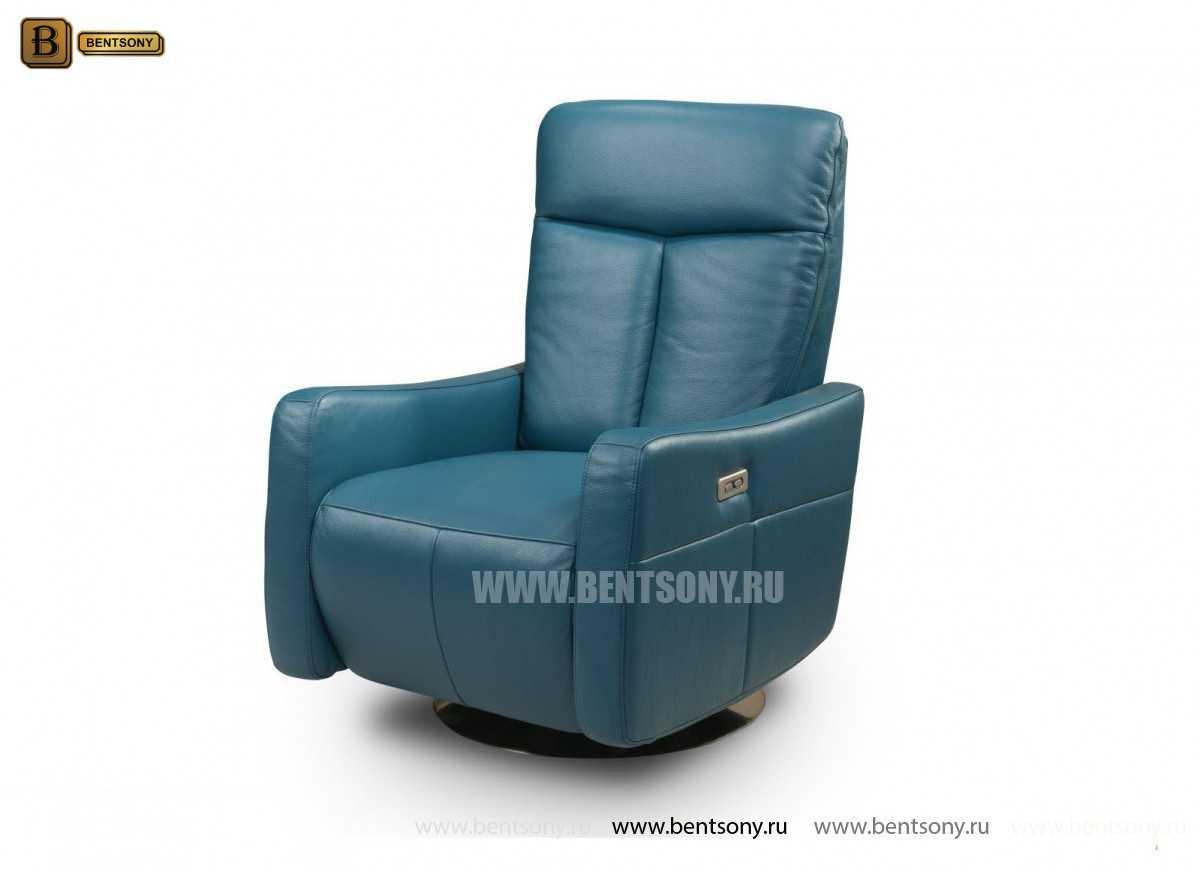 Кресло Фабио (Реклайнер, Натуральная кожа) купить в Москве