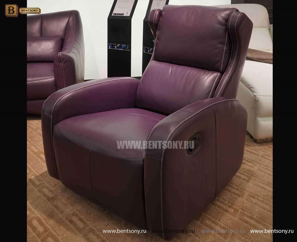 3191b2740d65 Кресло Джино (Реклайнер, Натуральная кожа) – купить в интернет ...