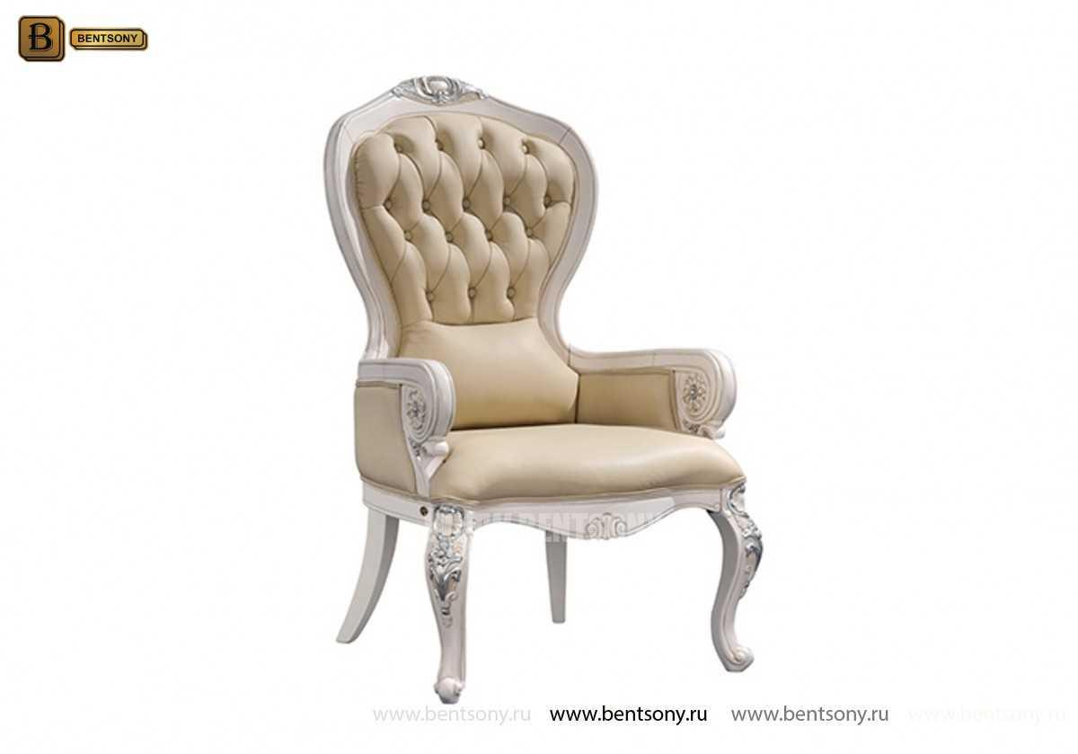 Кресло для кабинета Вагнер (Массив дерева, натуральная кожа) официальный сайт цены