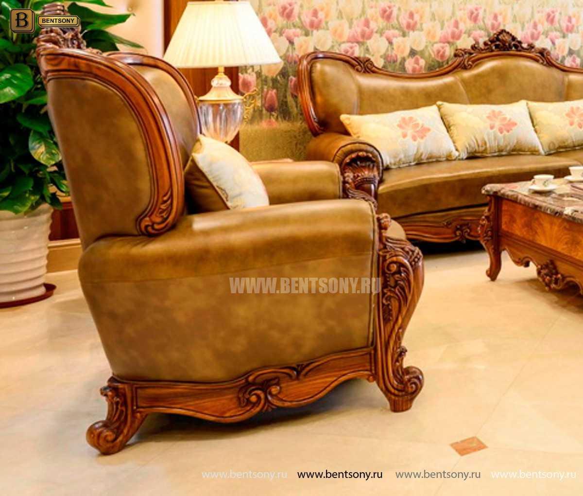 Кресло Дакота А (Классика, Натуральная Кожа) в Москве