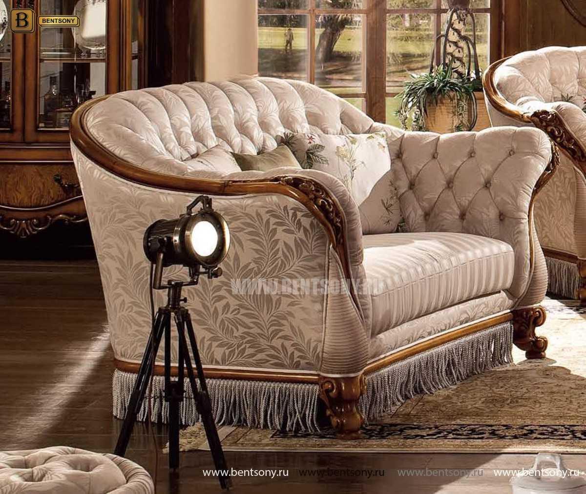 Кресло Дакота B (Классика, Капитоне) распродажа