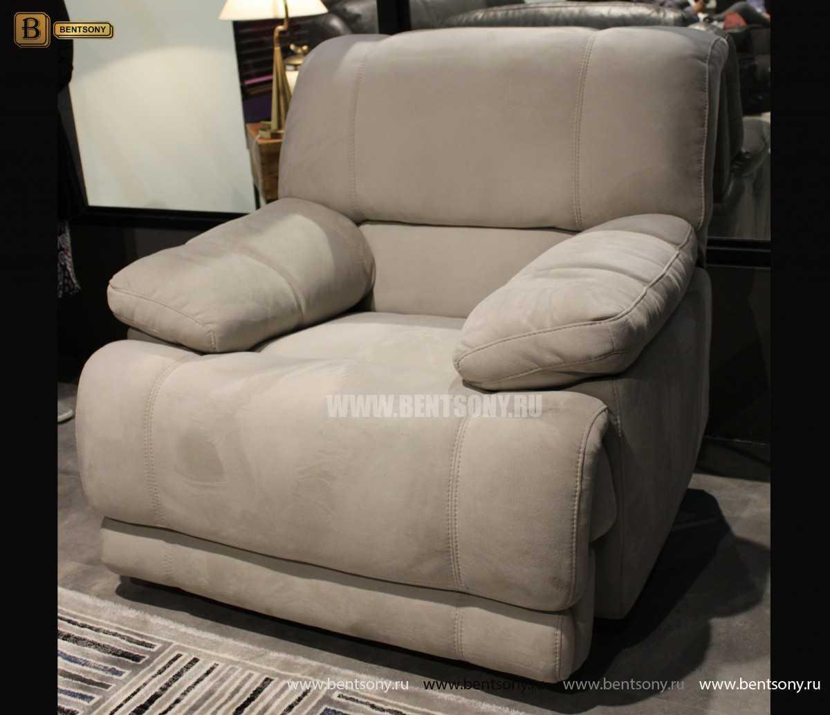 Кресло Марко (Реклайнер, Алькантара) каталог