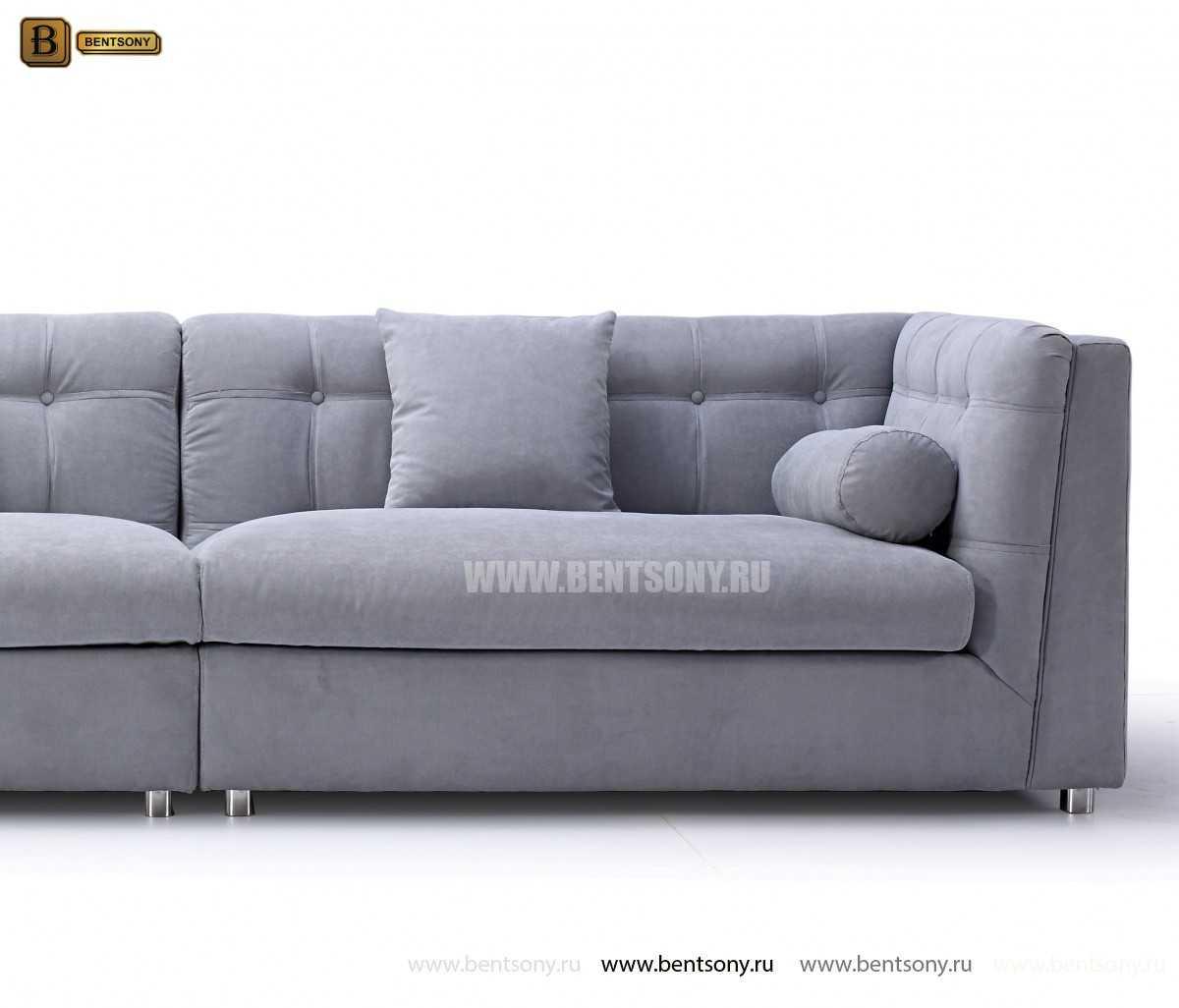 Диван Корсо (Прямой, Велюр) каталог мебели с ценами