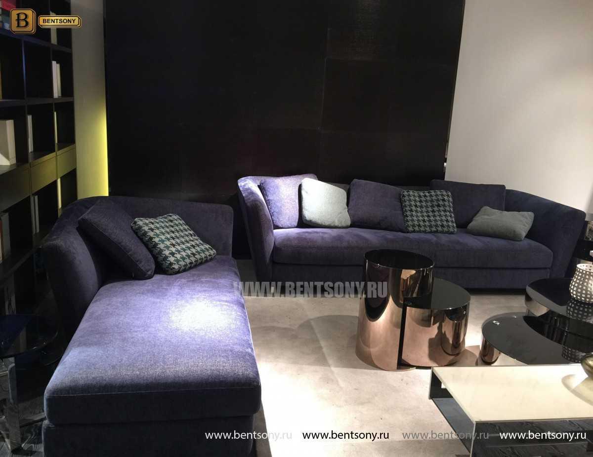 Диван Комо (Прямой, Велюр) каталог мебели с ценами