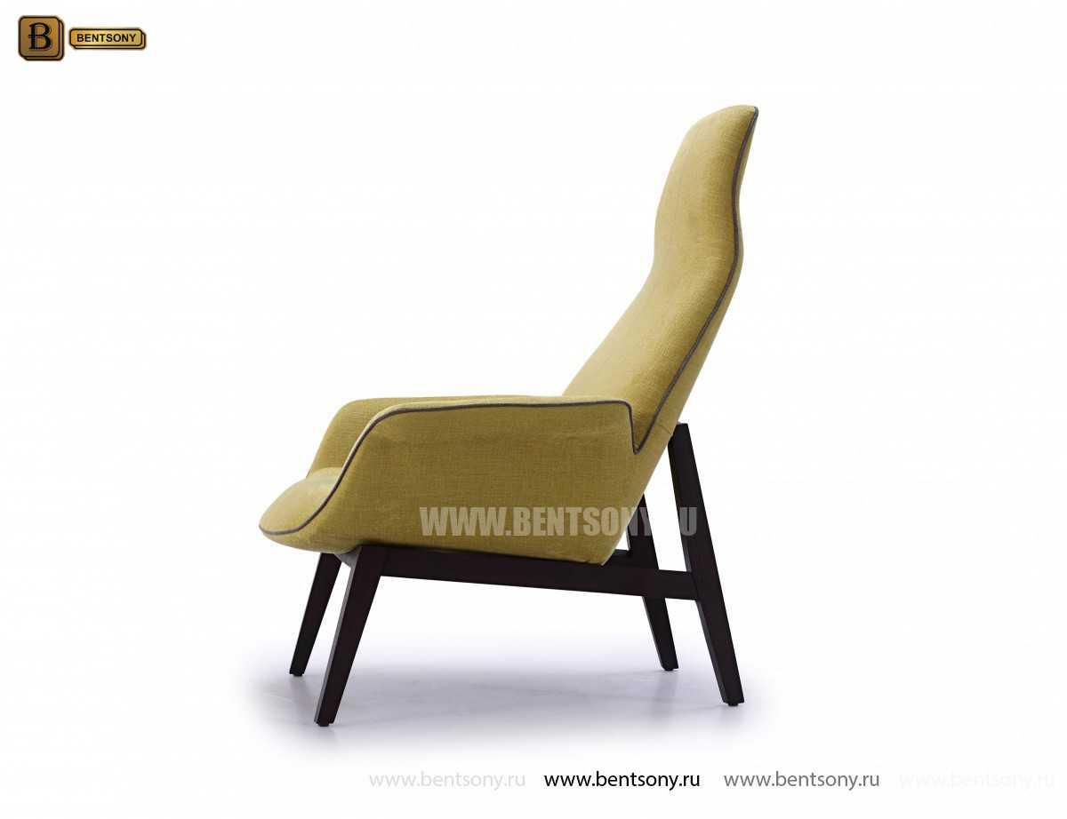 Кресло Ленчо (Деревянные ножки, Пуф) магазин
