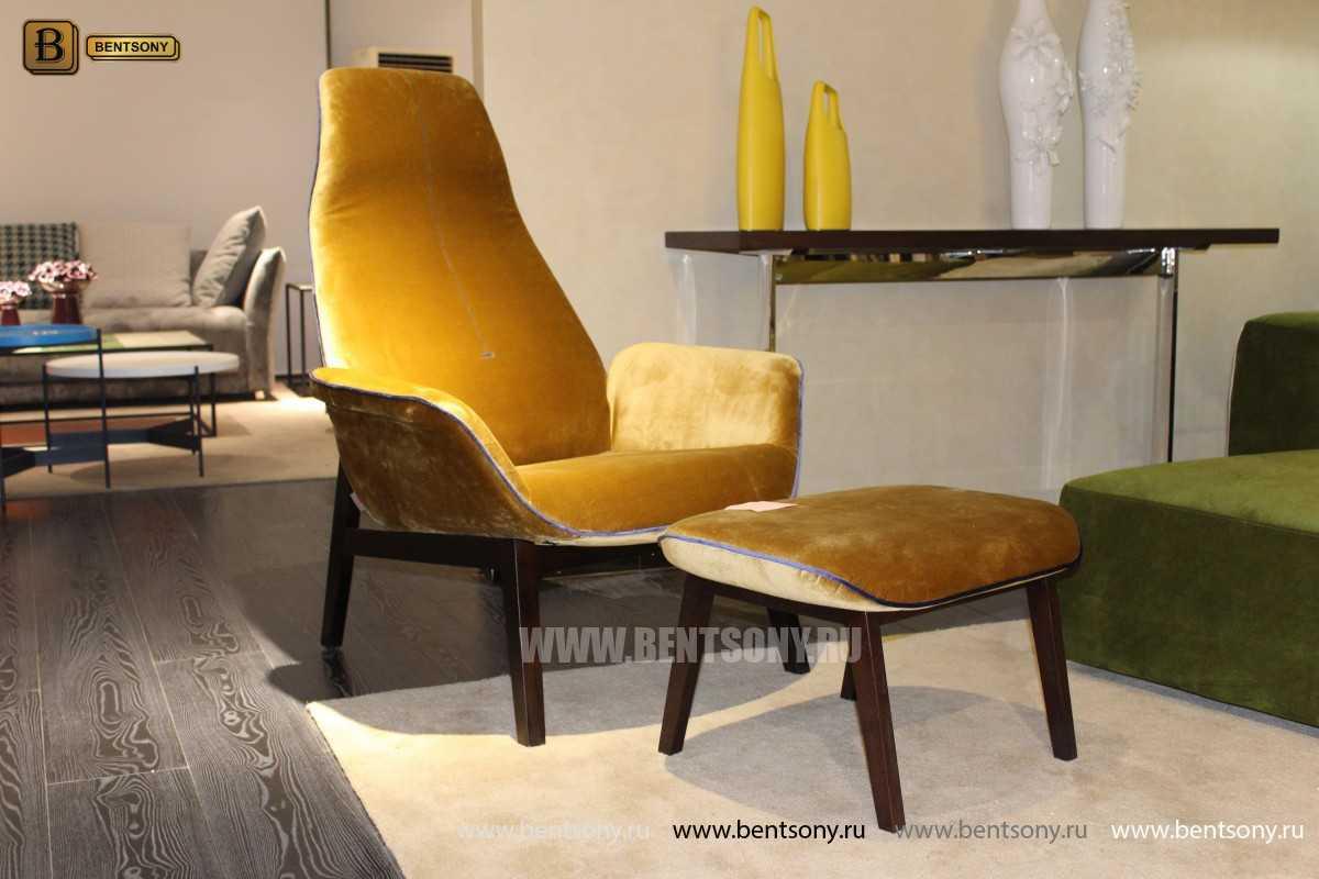 Кресло Ленчо (Деревянные ножки, Пуф) каталог с ценами