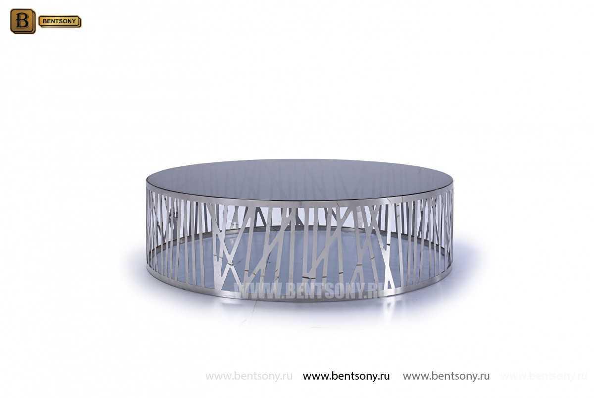 Стол Журнальный (Круглый, стеклянная столешница, Тонированное стекло) магазин