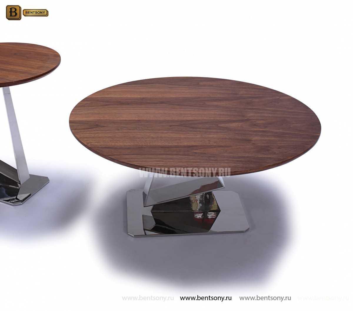 Стол Обеденный (Круглый, Деревянная столешница) цена