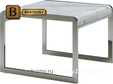 Стол Приставной (Квадратный, Мраморная столешница) цена