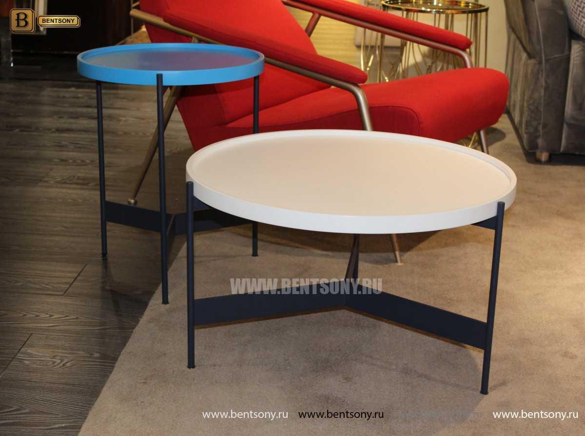 Стол Приставной (Круглый, Цветная столешница) изображение