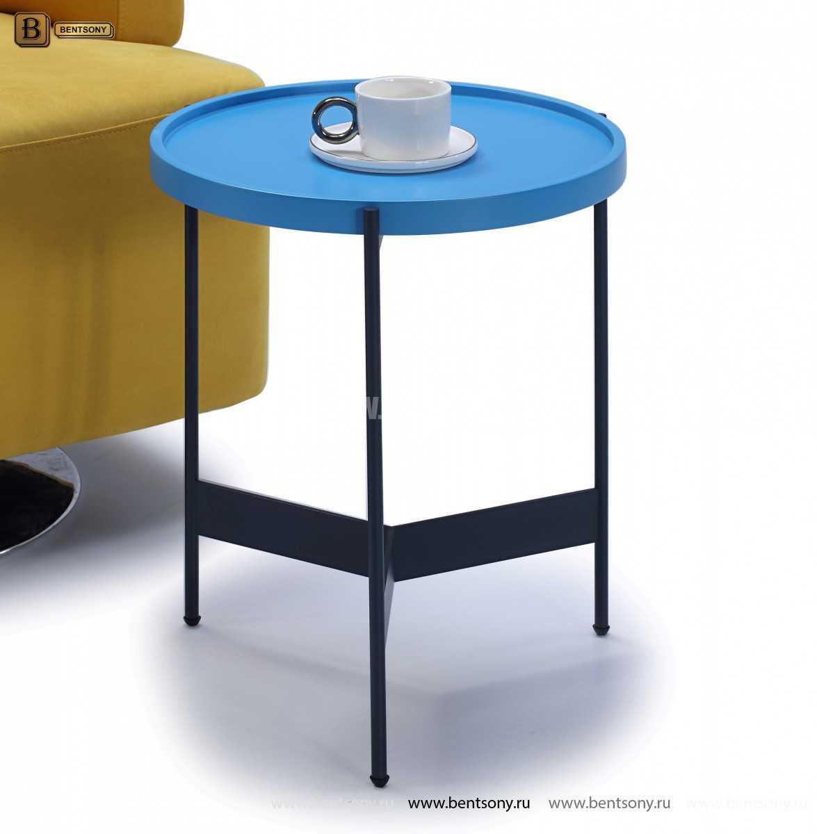 Стол Приставной (Круглый, Цветная столешница) для квартиры