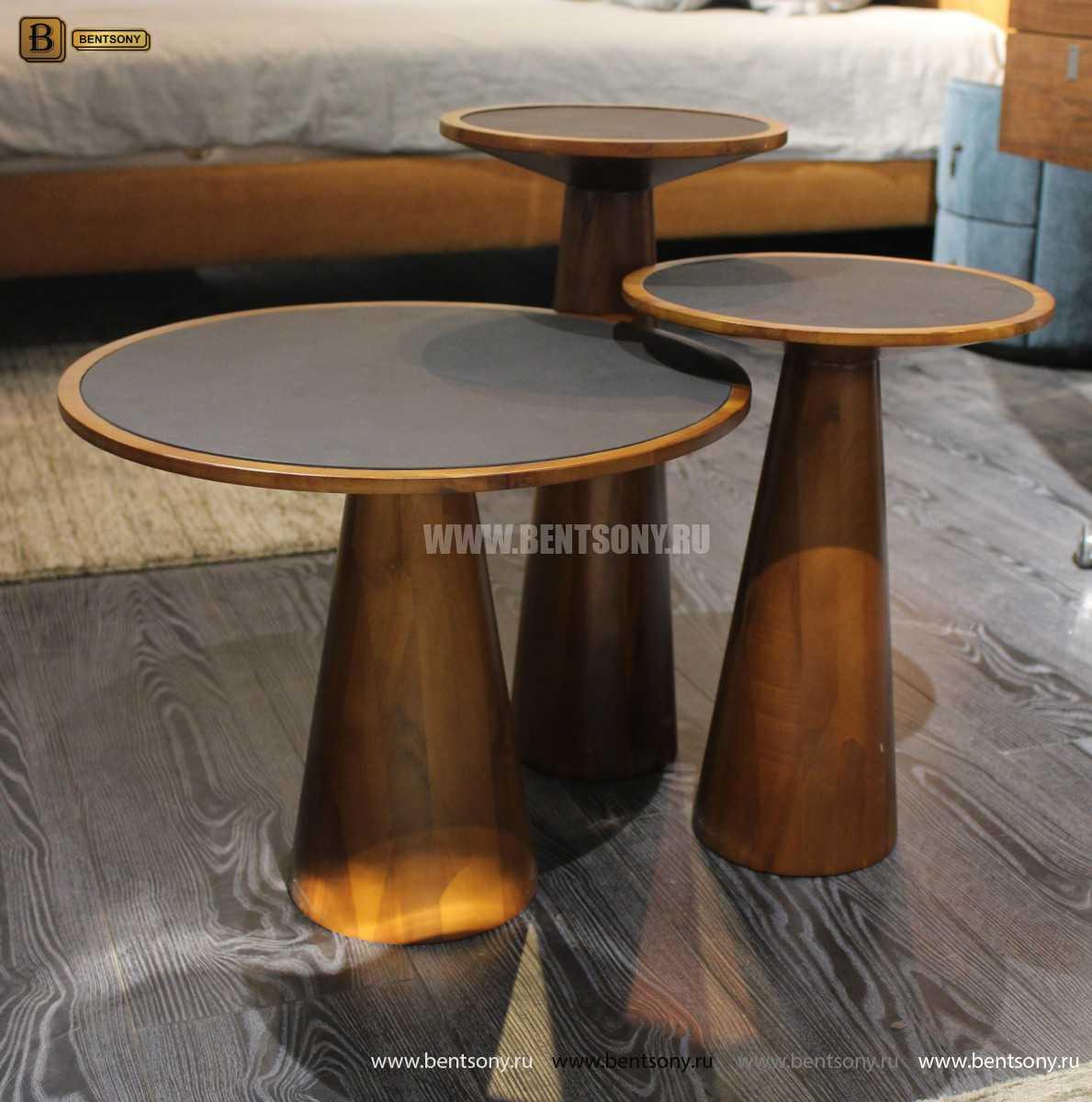 Стол Приставной (Деревянный, Стеклянная столешница) магазин