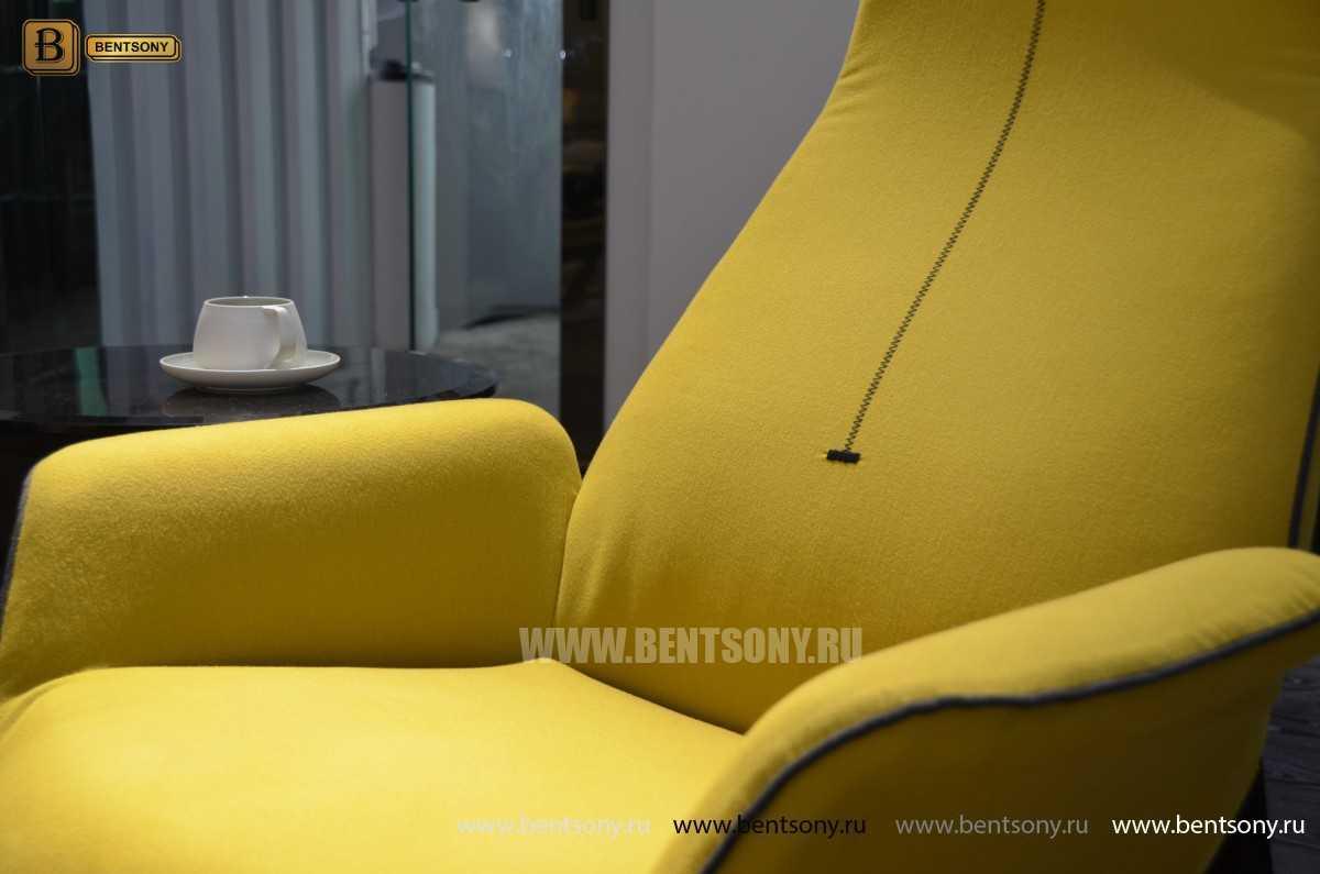 Кресло Ленчо (Деревянные ножки, Пуф) для загородного дома